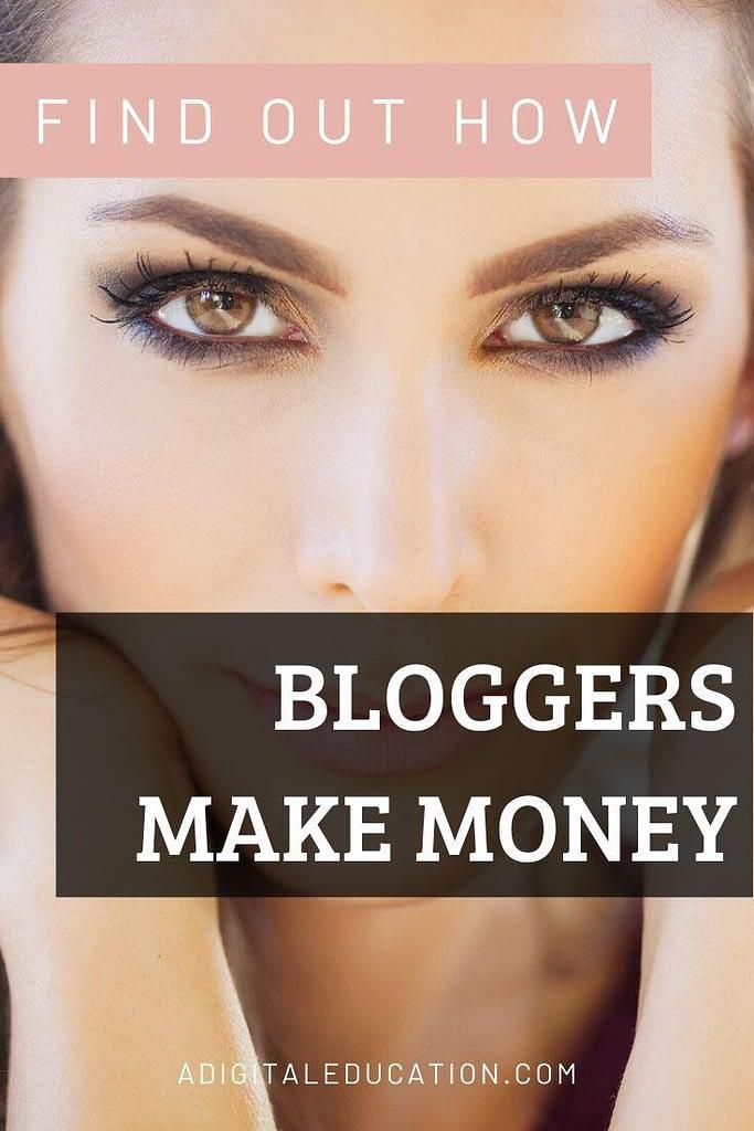 how to bloggers make money secret