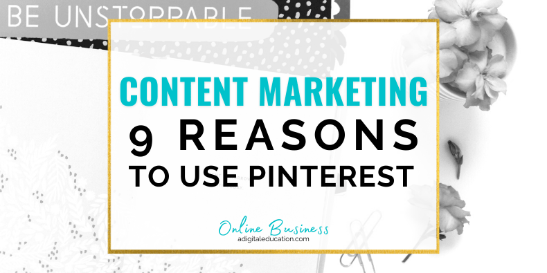 content marketing with pinterest