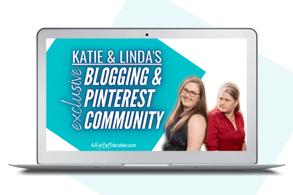 katie and lindas private facebook blogging and pinterest community