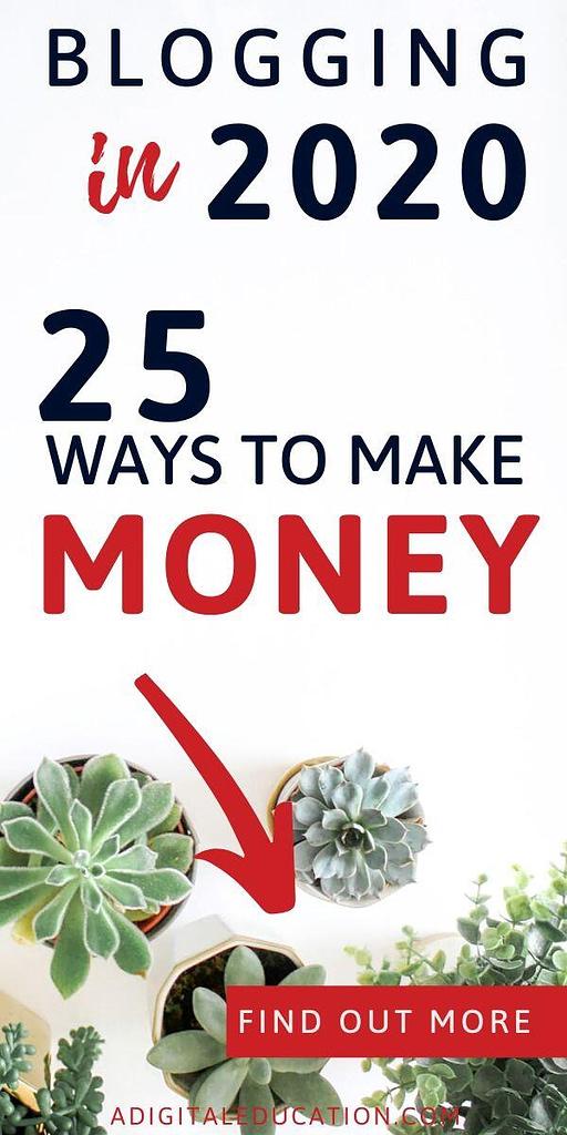 passive income from blogging