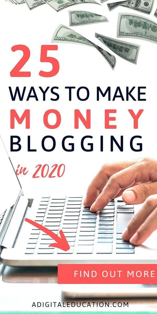 blogging for beginners and ways to make money blogging