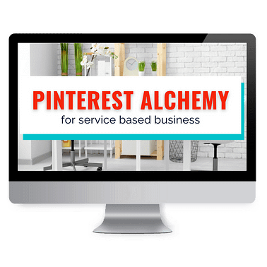 Pinterest for service based businesses course