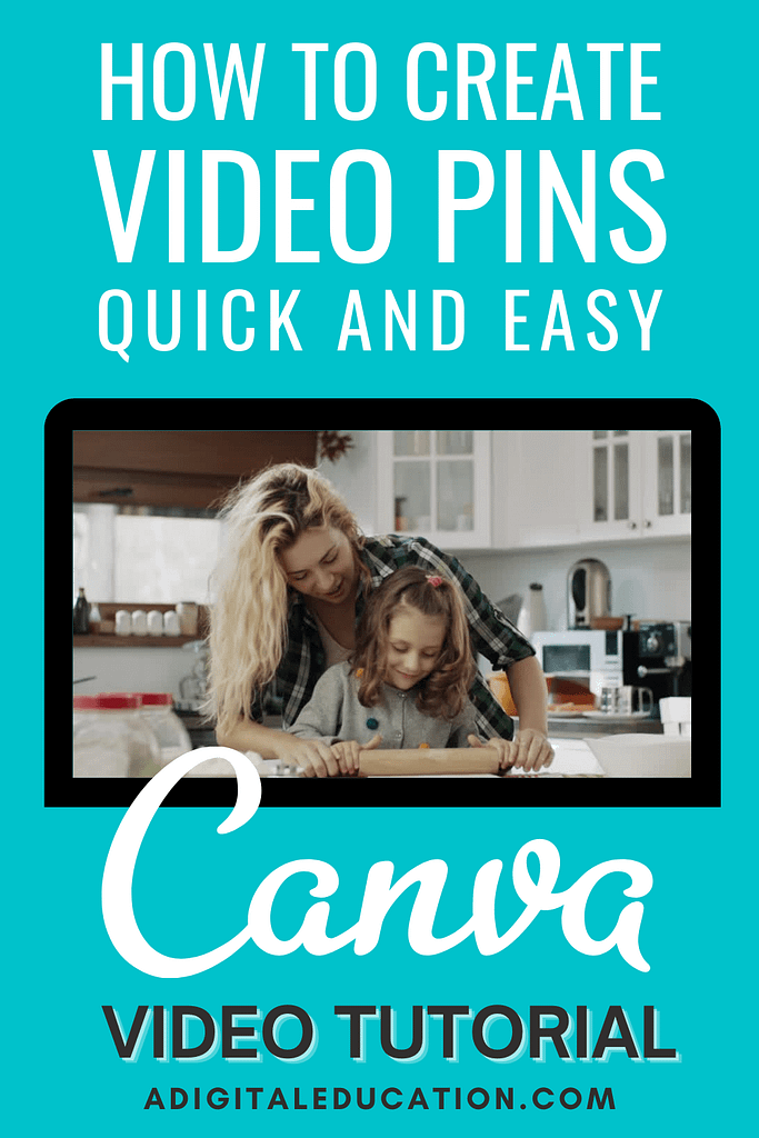 video pins by canva