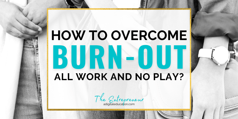 how to overcome burn out