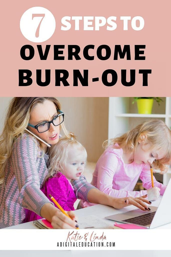 How to get over burn-out